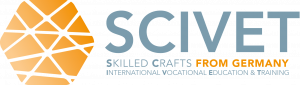 Logo Projekt SCIVET - Skilled Crafts – International Vocational Education and Training