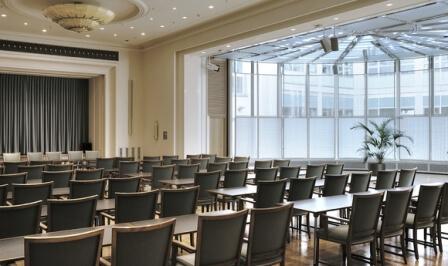Blick in den Meistersaal im Haus des Deutschen Handwerks