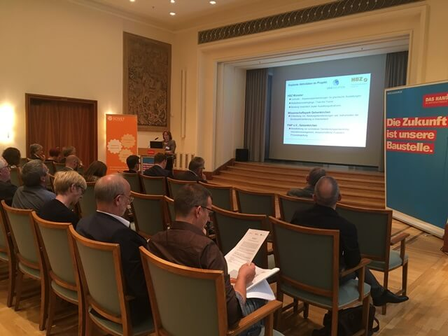 Sabine Heine, HWK Münster, berichtet vom GRAEDUCATION-Projekt mit Griechenland.