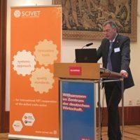 Dirk Palige, ZDH, erläutert, warum das Handwerk sich in der internationalen Berufsbildungszusammenarbeit engagiert.