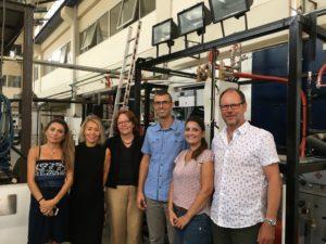 Graeducation-Projektteam bei Kooperation mit TU Athen